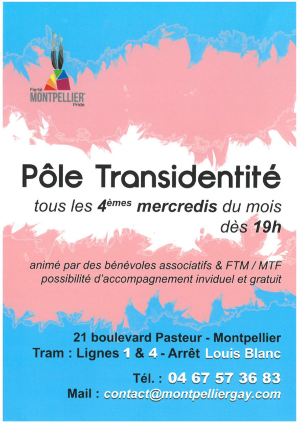 Flyer tranidentité